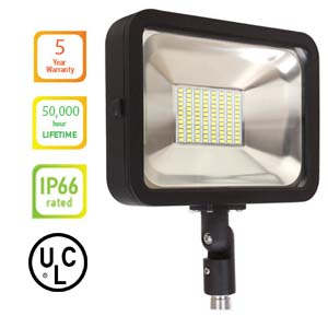 LED FLOOD LIGHT 50W Knuckle - Color