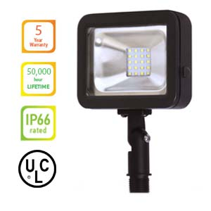 LED FLOOD LIGHT 10W Knuckle - Color