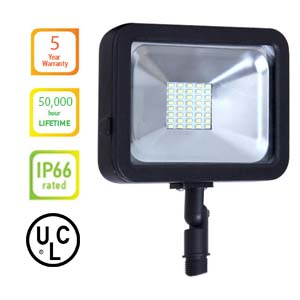 LED FLOOD LIGHT 20W Knuckle - Color